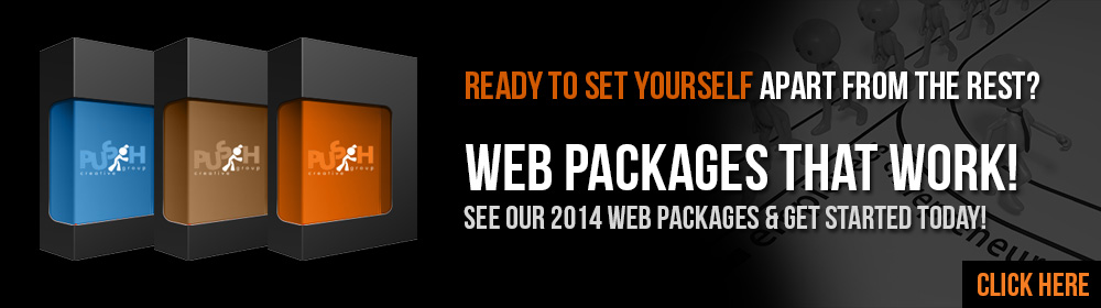 2014 Web Packages. Click Here >